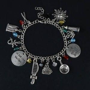Disney Tangled Charm Bracelet NEW